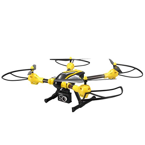 MOZATE KAIDENG K70 HD Camera 6 Axis Gyro Altitude Hold Mode 3D Flip Roll RC Quadcopter (Yellow) by MOZATE (Image #1)