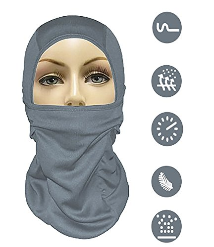 CTKcom Balaclava Windproof Ski Mask & Outdoor Hood for Skiing, Snowboarding, Riding & Outdoor Sports Mask for Cold or Hot Weather Life Time (Cold Weather Halloween Costumes)