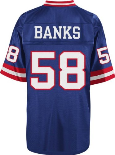 Mitchell   Ness Carl Banks 1986 Replica Jersey New York Giants In Royal  Large 9fbc94056