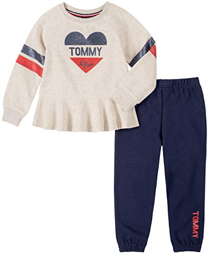 Tommy Hilfiger Baby Girls' 2 Pieces Pants Set
