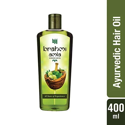 Bajaj Brahmi Amla Ayurvedic Hair Oil, 400ml