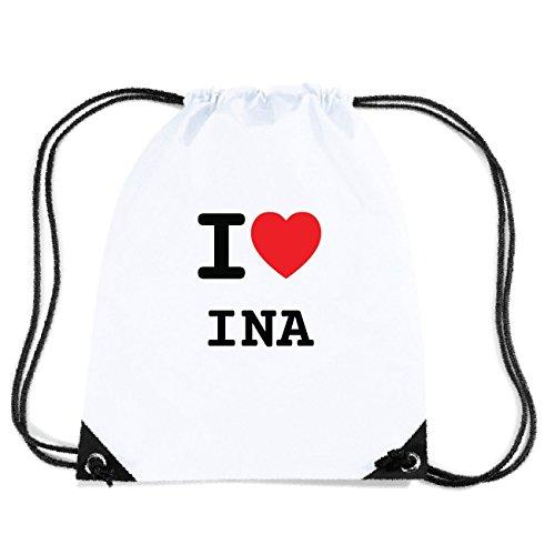 JOllify INA Turnbeutel Tasche GYM5432 Design: I love - Ich liebe ktXXg