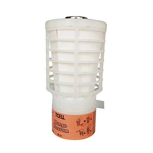 Rubbermaid Commercial Products TCell Air Freshener Refill, Mango Blossom, FG402369 - Mango Air Freshener Refill