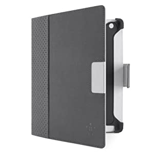 Belkin Cinema Dot Folio Case / Cover with Stand for the Apple iPad with Retina Display (4th Generation) & iPad 3 and iPad 2 (Dark Grey/Light Grey) by Belkin Components