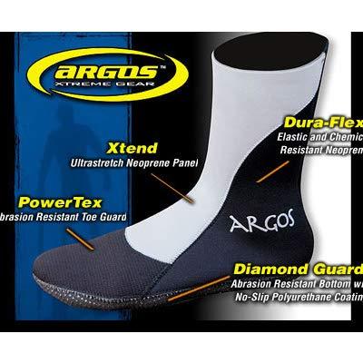 Argos Stealth High Top Bootie, 2mm/XX-Large