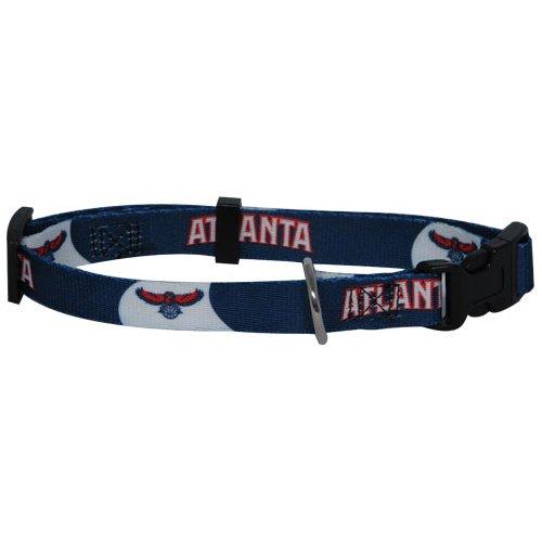NBA Atlanta Hawks Adjustable Pet Collar, X-Small, Team Color