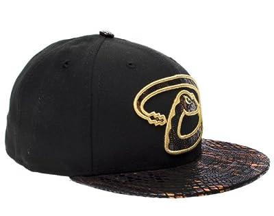 New Era 59Fifty Arizona Diamondbacks Metallic Snake Vize Mens Fitted Hat 5950-SNAKEVIZEARIDIA