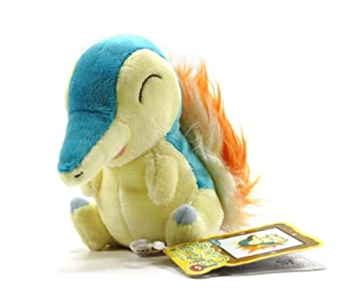 Pokemon Center Canvas Plush - Cyndaquilhinoarashi from Pokemon Center