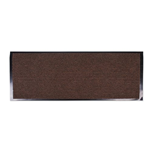 Ju0026M Home Fashions Heavy Duty, Xtra Long Waterproof Ribbed Utility Doormat  (22x60   Brown) Entry Way Shoes Scraper For Patio, Garage, Or Front Door,  ...