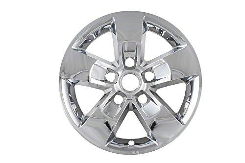 Premium OEM Style Chrome Wheel Skins for 2013-2015 Dodge Ram (Pack of 4) ()