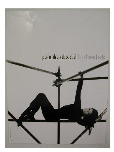 Paula Abdul Poster Head Over Heels Shot of Her Lying Do
