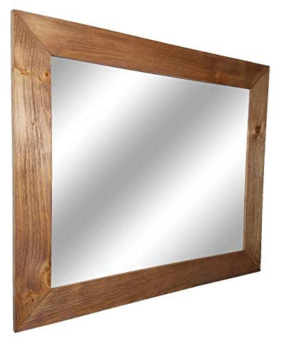 Amazon.com: Shiplap Large Wood Framed Mirror Available in ...