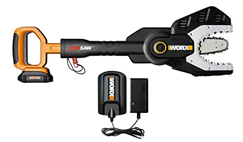 Cordless Powered Jawsaw Chain Saw Lithium Ion Battery Chainsaw by Alek...