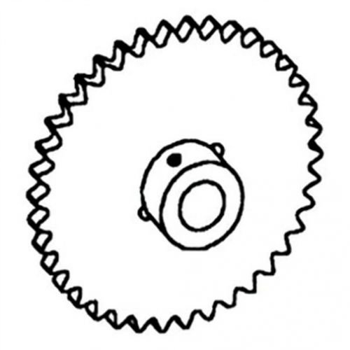 All States Ag Parts Sprocket - Auger Drive Clean Grain Gleaner F2 F3 K2 71318349 by All States Ag Parts