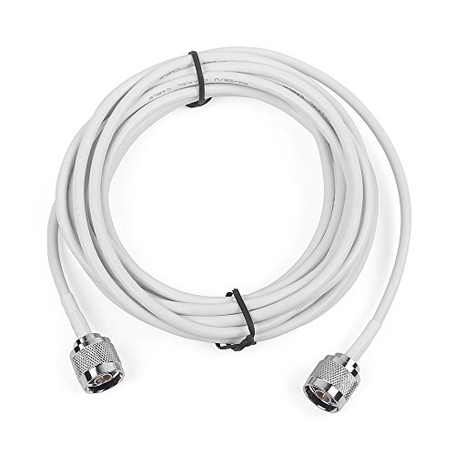 - Phonetone 5 meters 50-3 Coaxial Cable RG58 Extension Cable N male to N male end
