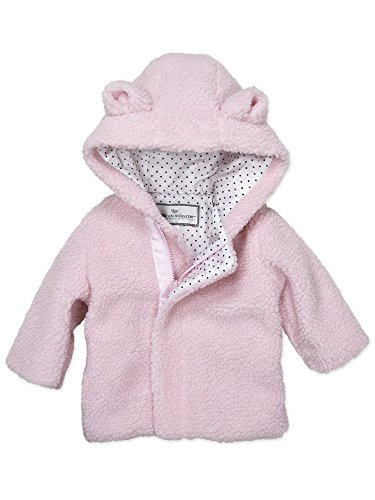 Widgeon Baby Girls Snuggle Bear Berber Jacket 3745, Cbp/Pink Cozy Berber, 6 Months