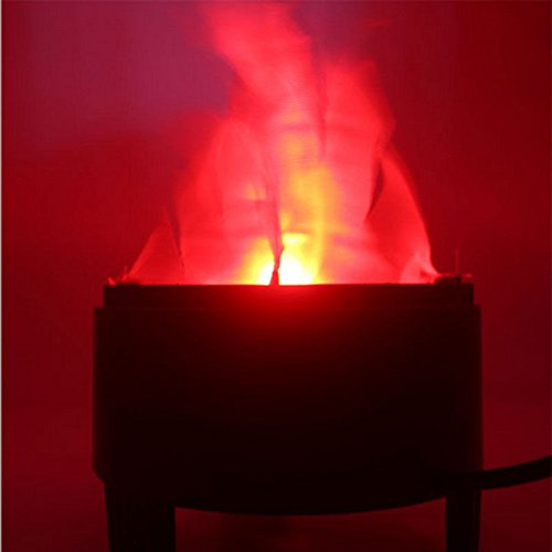 TOPCHANCES 3W LED Artificial Fire Lamp Fake Flame Effect Lamp 3D Fire Campfire Centerpiece Flame Lightning Torch Light for Christmas Halloween Party Decoration (US Plug) (4.7inch x 3.9inch x 5inch) by TOPCHANCES (Image #4)'
