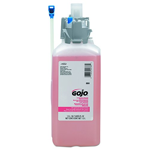 GOJO 856102CT CX & CXI Luxury Foam Hand Wash, Cranberry Liquid, 1500mL Refill (Case of 2) ()