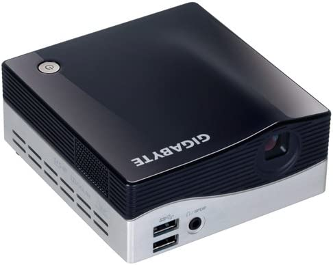 Gigabyte BRIX Ultra Compact PC Barebone Intel i3-4010U 1 7GHz with  Integrated Projector (GB-BXPi3-4010)