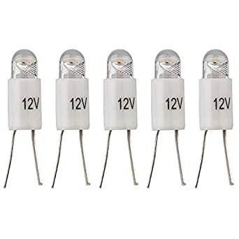 Parts Express 12 voltios luz LED Blanca cálida bi-Pin Estilo ...
