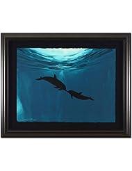 Two Dolphins Wyland Original Art