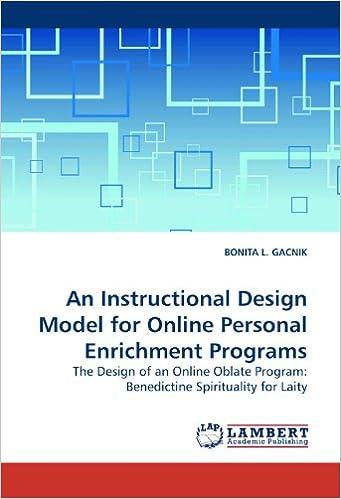 An Instructional Design Model For Online Personal Enrichment