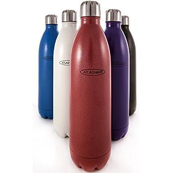 Amazon Com Water Bottle Stainless Steel Atlasware