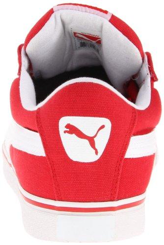 Sneaker Moda Ad Alto Rischio Rosso / Bianco