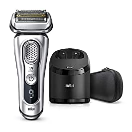 Braun Electric Razor for Men, Series 9 9370cc Electric Shaver With Precision Trimmer, Rechargeable, Wet & Dry Foil…