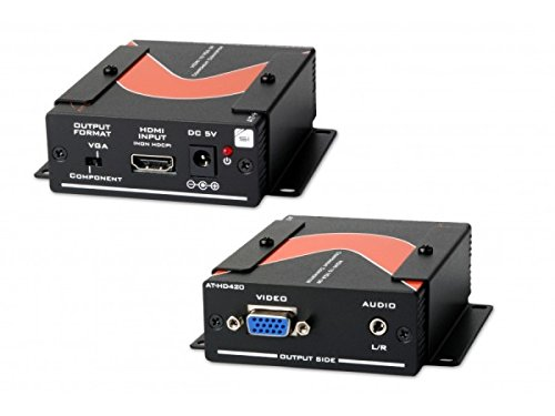 - Atlona Technologies AT-HD420 HDMI to VGA Component with Stereo Audio Format Converter