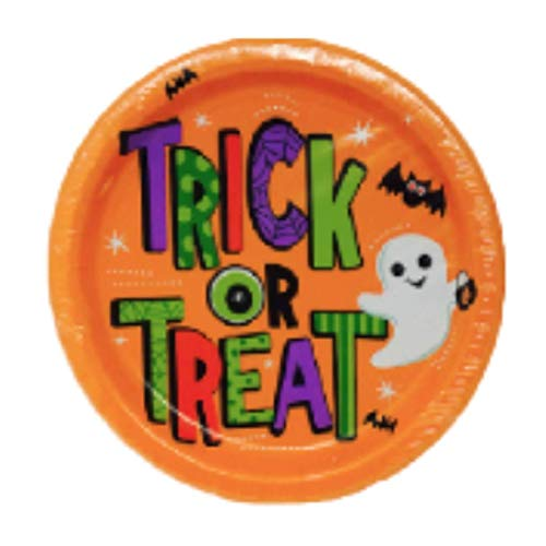 2 Pack Halloween Paper Plate Pack 16