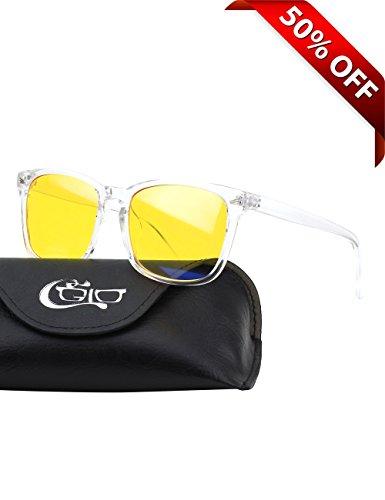 CGID BL82 Blaues Licht-blockierende Brille, Anti Blendung Müdigkeit