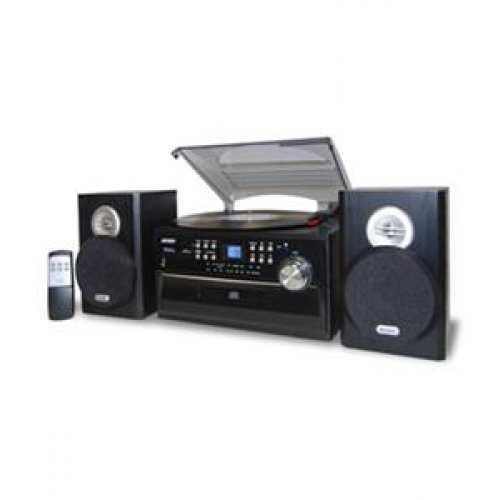 Spectra Iii Remote (SPECTRA MERCHANDISING 3-Speed Turntable with CD- Radio- Remote / JEN-JTA-475)