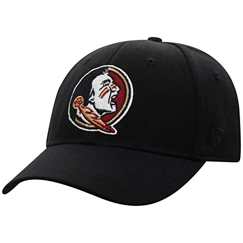 (Top of the World Florida State Seminoles Men's Memory Fit Hat Icon, Black, One)