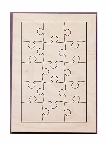 Amazon com: Puzzle Maker Die Make Puzzle26x17cm-15PCS Seel Rule