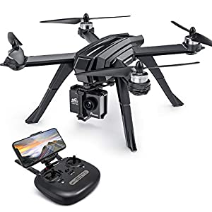 Drone GPS, Auto Return Home with 1080P HD Camera 5G FPV Live Video, Potensic D85 RC Quadcopter for Adults, GPS Follow Me, Brushless Altitude Hold, Sport Camera