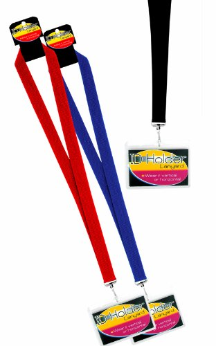 Solid Colored Lanyards Badge Holder product image