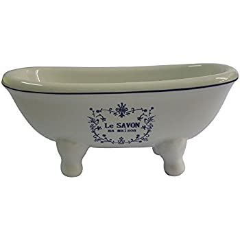 Kingston Brass BATUBDSW Aqua Eden Mini Ceramic Double Ended Bathtub, 5 11/16