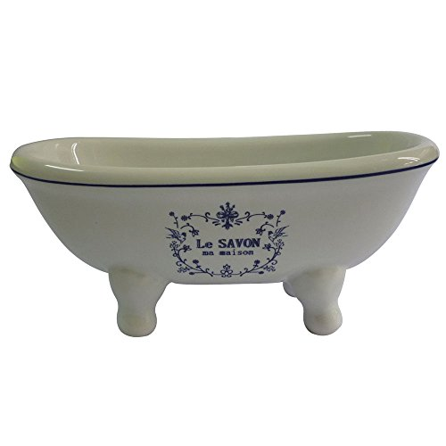 Buy Cheap Kingston Brass BATUBDSW Aqua Eden Mini Ceramic Double Ended Bathtub, 5-11/16-Inch x 2-11/1...