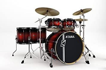 a3a29c93c6a7 TAMA SUPERSTAR CUSTOM HYPER-DRIVE 6 PIECE - COPPER MIST BURST -  SL62HZBN-CMB  Amazon.co.uk  Musical Instruments