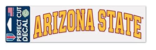 NCAA Arizona State University ASU Sun Devils 3 x 10 inch Perfect Cut Decal