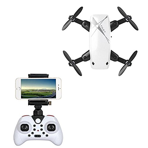 Foldable Mini Wifi FPV Drone with Camera HD Headless Mode RC Helicopter Quadrocopter Pocket Dron