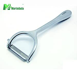 MERIMBULA Vegetable and fruit peeler - best ultra sharp stainless steel vegetable peeler - save your time and make your life delicious