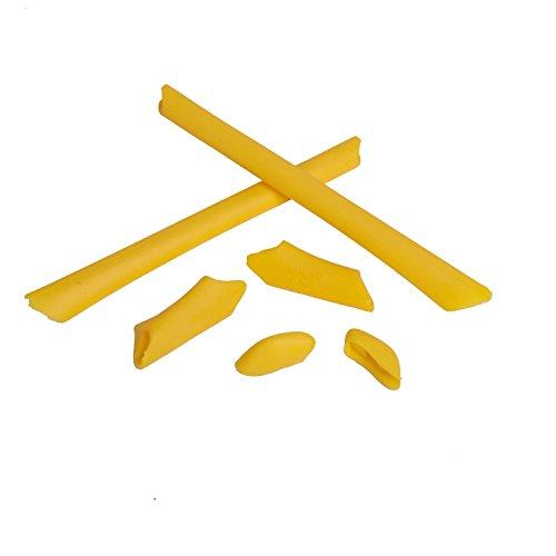 Walleva Earsocks and Nose Pads for Oakley Half Jacket/Half Jacket XLJ (Yellow) ()