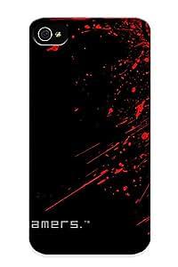 Bboara-3898-hfexncm Premium Naga Razer Gaming Back Cover Snap On Case For Iphone 4/4s