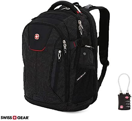 SwissGear ScanSmart Backpack Abrasion Resistant Travel Friendly product image