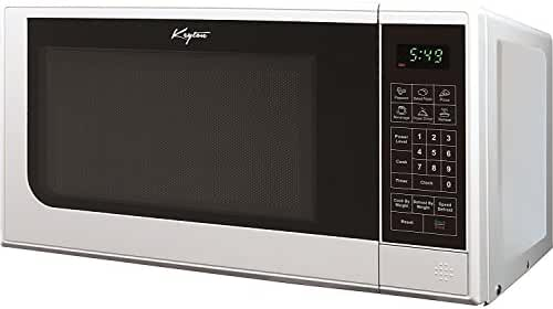 Keyton K-0.7MICROWAVEWHT Microwave Oven with 6 Instant Cooking Settings & 10 Power Levels and a Digital Display, White