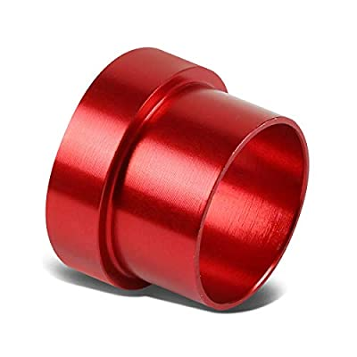 10-AN AN10 5/8 inches Tubing Sleeve Flare Fitting Replacement for Aluminum/Steel Hard Line (Red): Automotive