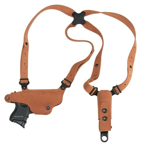 Galco Classic Lite Shoulder System for Walther PPK, PPKS (Natural, Right-Hand)