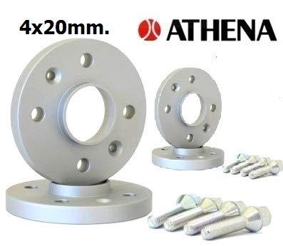 500L dal 2012 in Poi con BULLONI in Acciaio Kit 4 DISTANZIALI Ruote 20 MM ATHENA.